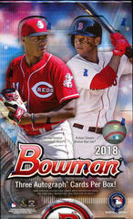 2018 Bowman MLB Baseball JUMBO Hobby Box