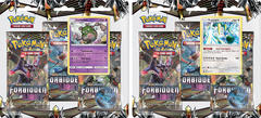 Pokemon Sun & Moon SM6 Forbidden Light 3-Booster Blister Packs: Set of 2