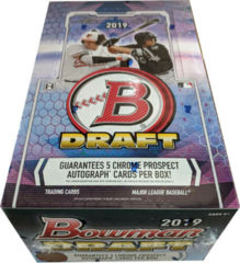 2019 Bowman Draft MLB Baseball Super Jumbo Box