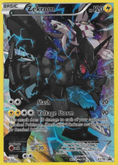 Zekrom XY76 Full-Art Sheen Holo Promo - Pikachu Legendary Collection Exclusive