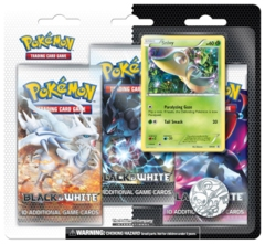 Pokemon Black & White 3-Booster Blister Pack - Snivy Promo