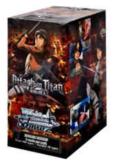 Weiss Schwarz Attack on Titan Booster Box