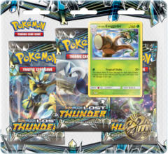 Pokemon Sun & Moon SM8 Lost Thunder 3-Booster Blister Pack - Alolan Exeggutor Promo