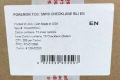 Pokemon SM10 Unbroken Bonds Checklane Blister Pack CASE (288ct)