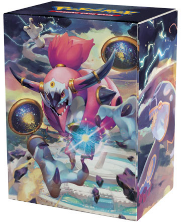 English Pokemon Hoopa Unbound Deck Box