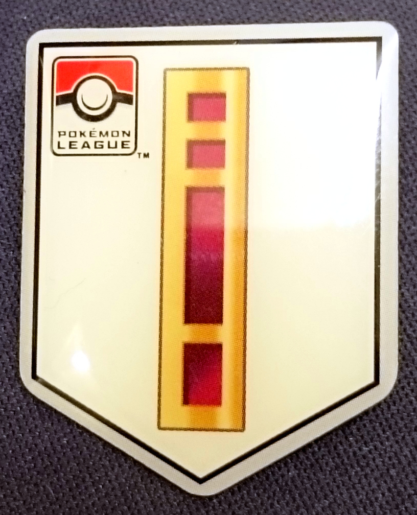 TCG Unova League Basic Badge Pin - Nacrene City