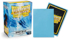 Dragon Shield Matte Standard-Size Sleeves - Baby Blue - 100ct