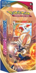 Pokemon Sword & Shield SWSH1 Base Set Theme Deck - Cinderace