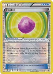 Eviolite - 91/101 - Uncommon - Reverse Holo