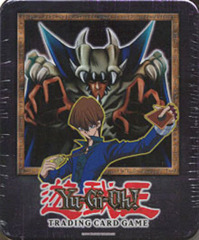Yu-Gi-Oh 2002 Lord of D. Collectors Tin with 5 Packs and BPT-004 Card