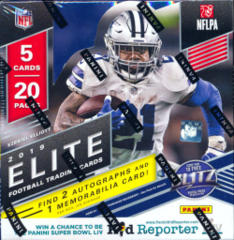 2019 Panini Donruss Elite Football Hobby Box