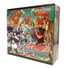 Buddyfight BFE-H-BT02  Galaxy Burst Booster Box