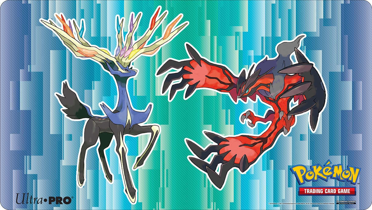 Ultra Pro Pokemon X & Y Xerneas Yveltal Playmat - Accessories » Playmats -  Collector's Cache