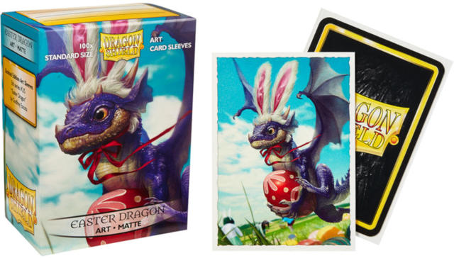Dragon Shield Art Sleeve MATTE Card Sleeves Easter Dragon 100 Count