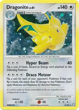 Dragonite - 2/146 - Holo Rare