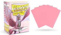 Dragon Shield Matte Standard-Size Sleeves - Pink - 100ct
