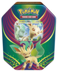 Pokemon Evolution Celebration Tin - Leafeon GX