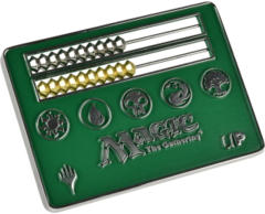 Ultra Pro Card Size Green Abacus Life Counter for Magic: The Gathering