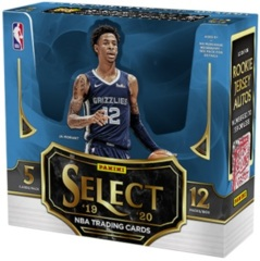 2019 Panini 1st Off The Line (FOTL) Select NBA Basketball Hobby Box