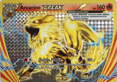 Arcanine BREAK XY180 JUMBO OVERSIZED Holo Promo - Arcanine Break Evolution Box Exclusive