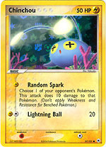 Chinchou - 57/101 - Common - Reverse Holo