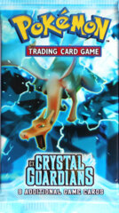 Pokemon EX Crystal Guardians Booster Pack - Charizard Artwork