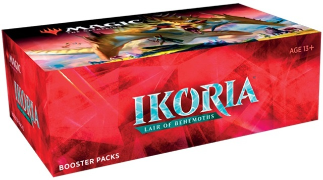 MTG Ikoria: Lair of Behemoths Booster Box -- MADE IN JAPAN 1st print