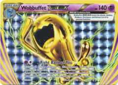 Wobbuffet BREAK XY155 Holo Promo - Ho-Oh Lugia BREAK Evolution Box Exclusive