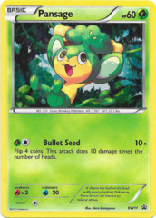 Pansage BW11 Cosmos Holo Promo - Emerging Powers Blister Exclusive