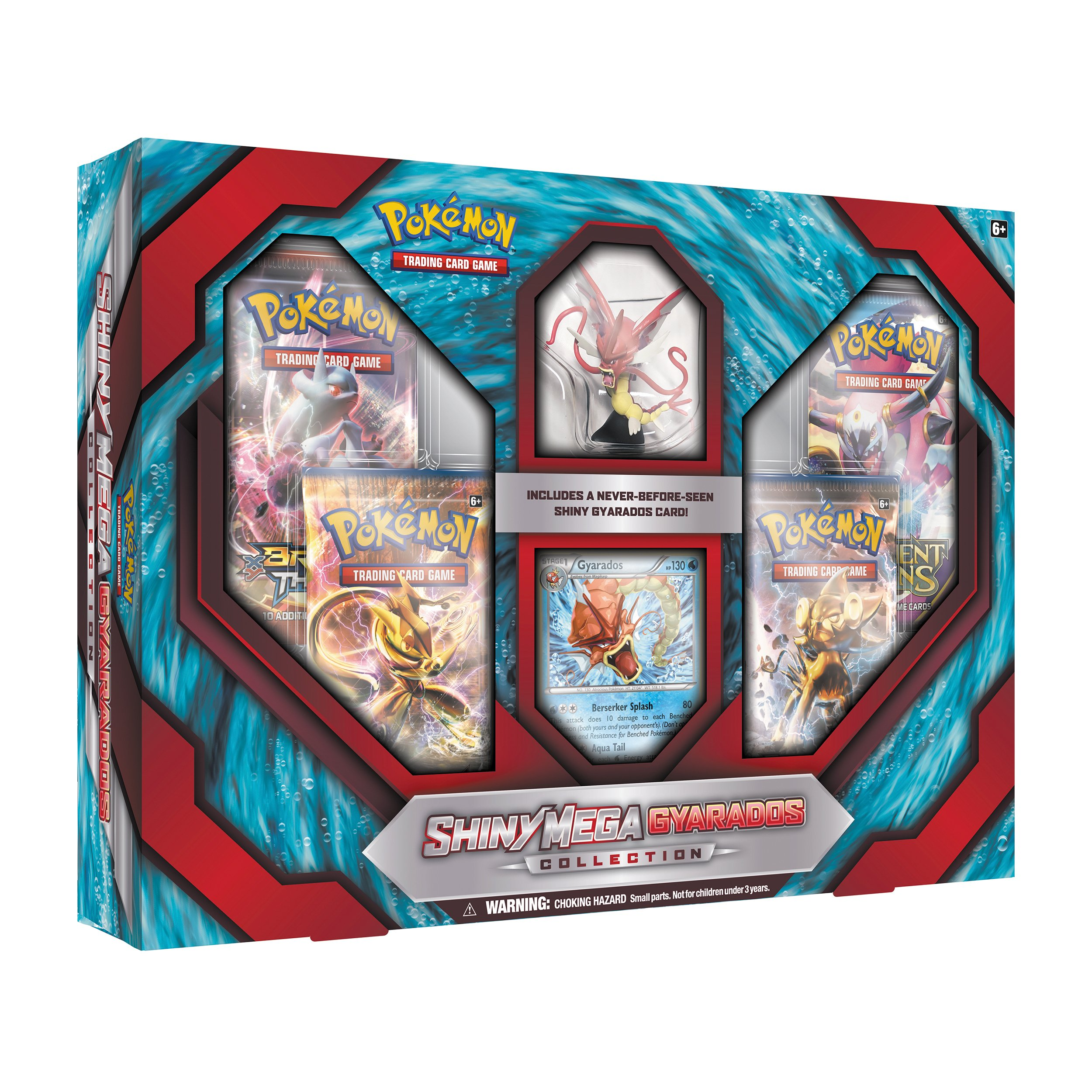 Pokemon Shiny Mega Gyarados Collection Box