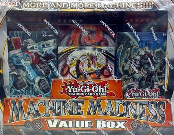 Yu-Gi-Oh Machine Madness Value Box