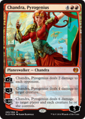 Chandra, Pyrogenius 265/264 - Foil