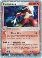 Blaziken EX 89/95 - Rare Holo