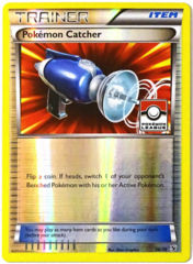 Pokemon Catcher 36/39 Reverse Holo Promo - 2015 Pokemon League
