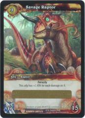 Savage Raptor Loot Card