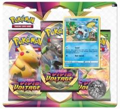 Pokemon SWSH4 Vivid Voltage 3-Pack Blister - Sobble