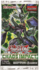 Yu-Gi-Oh Chaos Impact 1st Edition Booster Pack