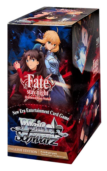Weiss Schwarz Fate/Stay Night [Unlimited Blade Works] Booster Box