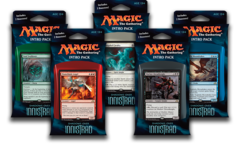MTG Shadows Over Innistrad Intro Packs: Set of 5