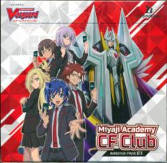 Cardfight!! Vanguard VGE-V-BT03 Miyaji Academy CF Club Booster Box