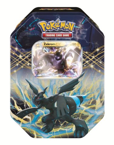 Pokemon 2012 Black & White EX Collectors Tin: Zekrom