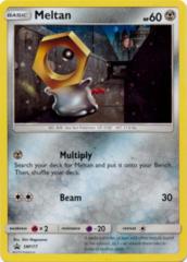 Meltan SM177 Cosmos Holo Promo - Melmetal GX Collection Box