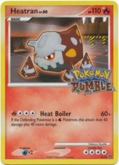Heatran 4/16 Cosmos Holo Promo - Pokemon Rumble