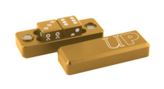 Ultra Pro Gold Gravity Dice - 2 Dice Set