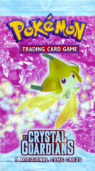 Pokemon EX Crystal Guardians Booster Pack - Jirachi Artwork