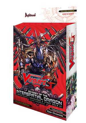 Cardfight!! Vanguard VGE-G-SD01 Odyssey of the Interspatial Dragon Start Deck