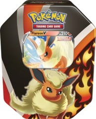 Pokemon Eevee Evolutions Tin - Flareon V