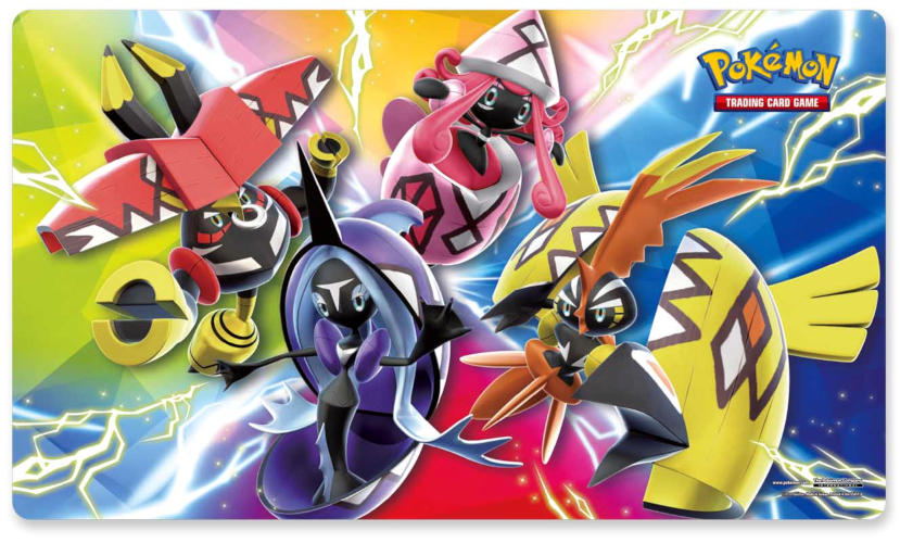 Pokemon Island Guardians GX Premium Collection Playmat