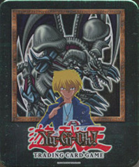 Yu-Gi-Oh  2002 Black Skull Dragon Collectors Tin with 5 Packs and BPT-006 Card