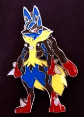 Mega Lucario Pin - Blister Exclusive